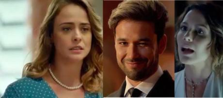 """Raquel, Ricardo e Zoe em """"Apocalipse"""""""
