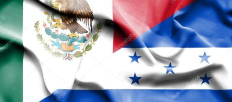 Waving flag of Honduras and Mexico — Stock Photo © Alexis84 #75365909 - depositphotos.com