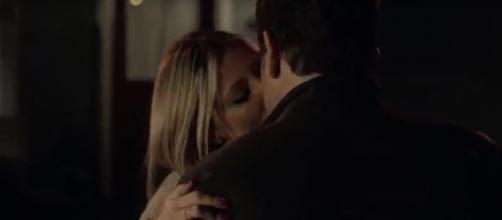 Deacon and Jessie's dinner as 'friends' goes quite a bit further on 'Nashville.' Image cap CMT/YouTube