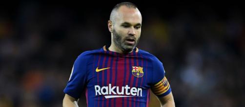 Iniesta no está preocupado por su puesto en el Barcelona.