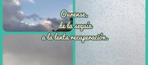 Las borrascas de estos días devuelven el agua y la típica imagen lluviosa a Ourense