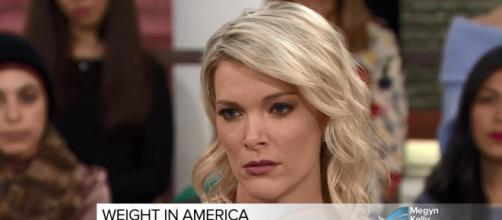 Megyn Kelly gets somber and very personal about issues related to weight on her January 12 show. Image cap Megyn Kelly TODAY