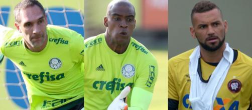 Os três principais atletas do Verdão para a posição