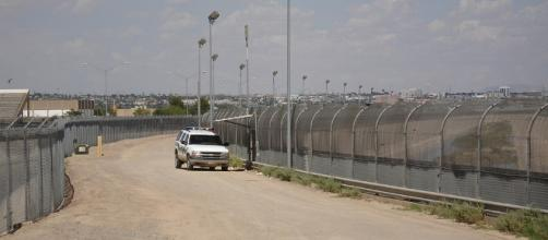 The U.S. border fence near El Paso, TX. Office of Representative Phil Gingrey/Wikimedia Commons