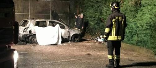 Zevio, uomo morto carbonizzato in un auto, due minorenni indagati