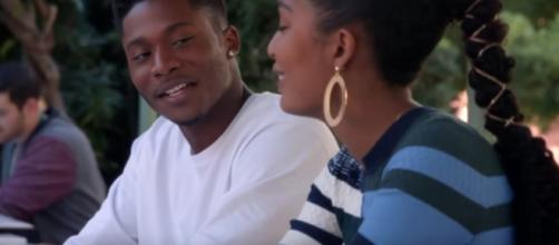 Zoey and Cash on 'Grown-ish' (TV Promos/YouTube Screencap)