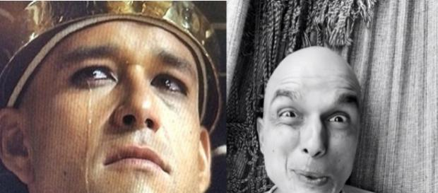 Ator fez sucesso igual ao faraó Ramsés, papel marcante de Sérgio Marone, que agora está em 'Apocalipse' como anticristo 'Ricardo Montana'