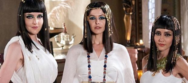 Atriz Bianca Rinaldi interpretou Tany, a esposa do faraó Apopi, na minissérie bíblica ''José do Egito''