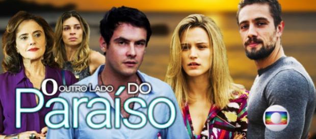 """Divulgação da novela """"O Outro Lado do Paraíso"""""""