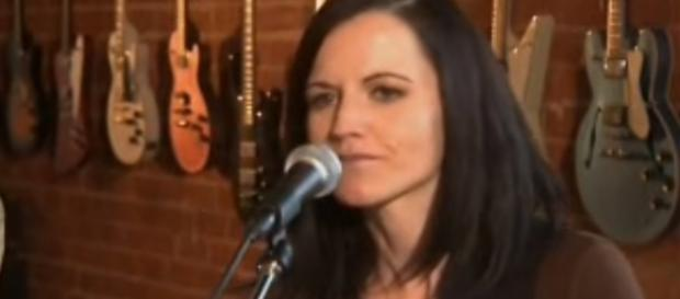 Dolores O'Riordan of the Cranberries has died - Image credit - Celtic Yodels   YouTube