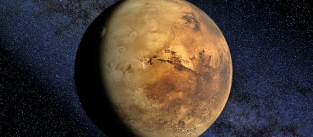 Planeta Marte ar ascunde cantități imense de gheață chiar sub suprafața sa