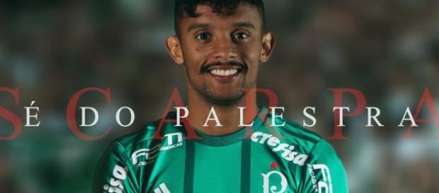 SC Palmeiras anuncia contratação de Gustavo Scarpa