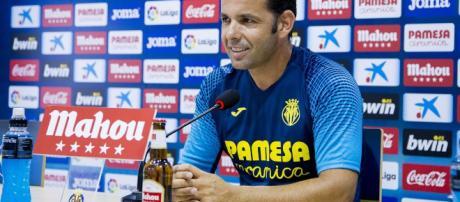 Calleja feliz por la victoria de su equipo contra el Real Madrid.