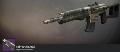 An Iron Banner weapon. - [Destiny / YouTube screencap]