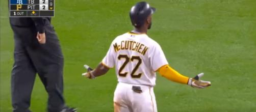 Andrew McCutchen is reportedly going to San Francisco - (image Credit: - MVPFLF / Youtube screencap)