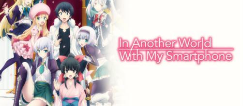 """""""En otro Mundo con mi Smartphone"""" se convierte en un divertido anime."""