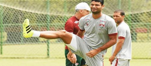 Gum deve reduzir salário e permanecer no Fluminense (Foto: Site Oficial do FFC)
