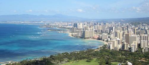 Honolulu suffered a false missile attack alarm [image courtesy of Hakilon wikimedia commons]