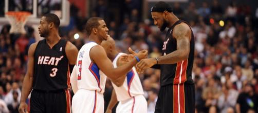 LeBron James and Chris Paul still playing at a very high level - 梓婷 - Flickr.com