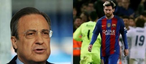 """Perez: """"Tôi dư sức mua Messi, nếu..."""" - bongda.pro"""