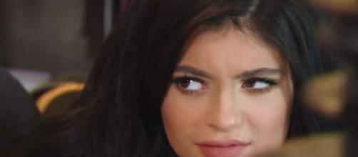 The internet thinks Kylie Jenner is in labor. - [TheTalko / YouTube screencap]