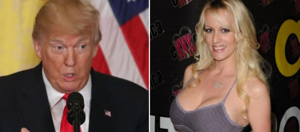 Donald Trump e Stephanie Clifford, a Stormy Daniels