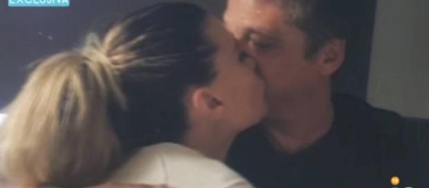 Gustavo González y María Lapiedra, juntos