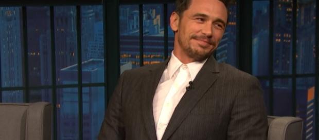 James Franco interview. - [Seth Meyers / YouTube screencap]