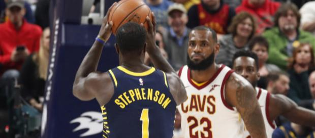 LeBron James talks about Lance Stephenson - (Image Credit: Pacers/ YouTube screencap)
