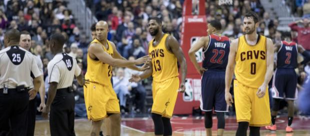 Cavs playing against the Wizards. - [Photo by Keith Allison - Flickr]