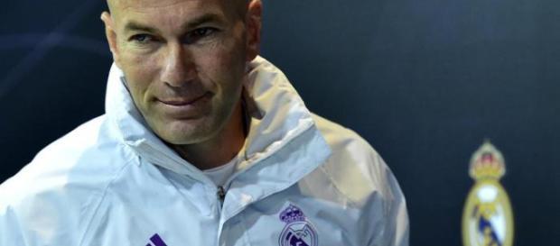 Zidane é o técnico madrilhenho