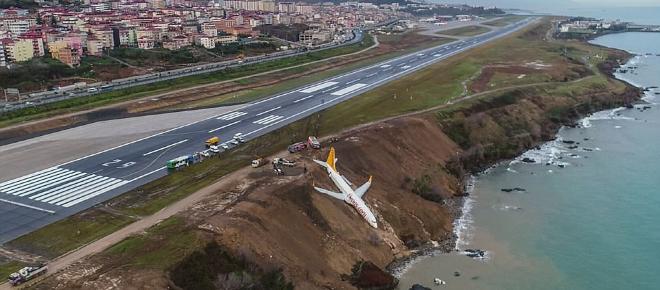VIDEO: La un pas de dezastru! Avion aproape să plonjeze în Marea Neagră