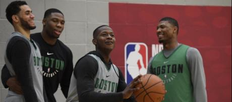 A hodgepodge of everything that the Celtics are doing in London ... - celticslife.com
