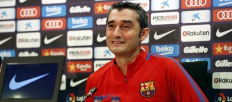 """Valverde: """"Debemos tener cuidado del ambiente festivo del derbi ... - fcbarcelona.es"""
