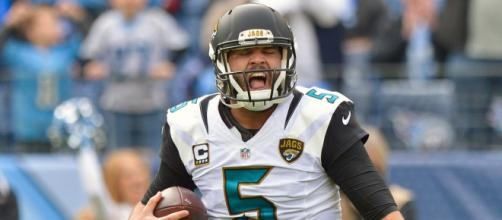 Blake Bortles and the Jaguars are headed to the AFC title game. [Image via ESPN.com/YouTube]
