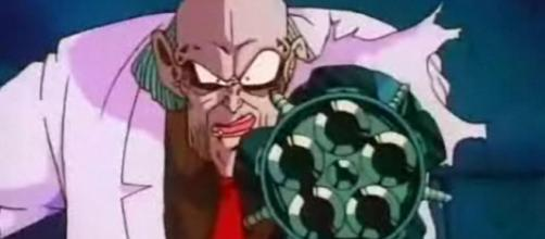 El Dr. Kochin en Dragon Ball. - imdb.com