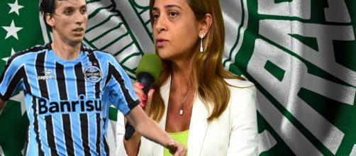 Empresária Leila Pereira é a patrocinadora do clube