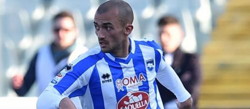 Il centrocampista del Pescara, Ahmed Benali