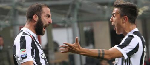 Juventus, con l'assenza di Dybala sarà Higuain a doversi caricare sulle spalle l'attacco