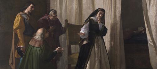 La demencia de Doña Juana I de Castilla. Museo del Prado