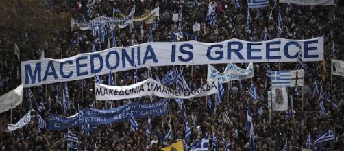 """""""La Macedonia è greca"""" - Fonte: Il Post"""