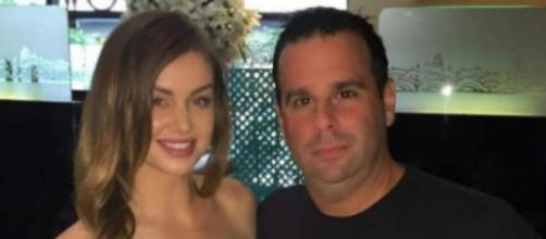 Lala Kent and Randall Emmett enjoy dinner in Beverly Hills. [Photo via Facebook]