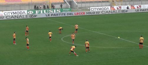 Lecce- Matera si è giocata nel pomeriggio.