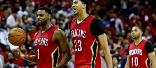 New Orleans Pelicans 2015 NBA.