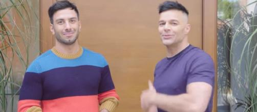 Ricky Martin and Jwan Yosef. - [Archetectural Digest / YouTube screencap]