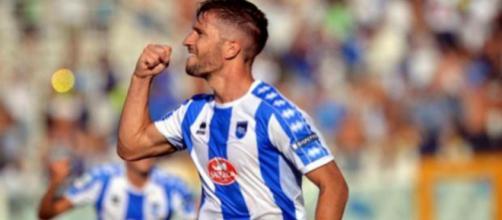 Stefano Pettinari, attaccante del Pescara.