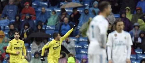 Villareal ganhou no Santiago Bernabéu
