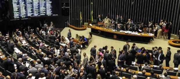 Câmara dos Deputados é composta por 513 parlamentares