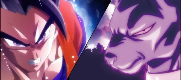 Dyspo expulsa todo su poder con energía similar a los Hakai-Shin.