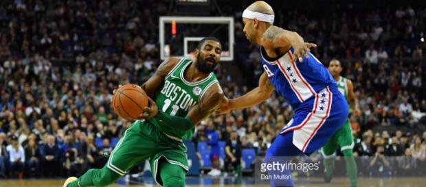 Celtics vs Philadelphia 76ers. - gettyimages.de